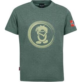 TROLLKIDS Trollfjord T-Shirt Kids khaki green